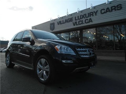 2011 Mercedes-Benz ML550 in review - Village Luxury Cars Toronto