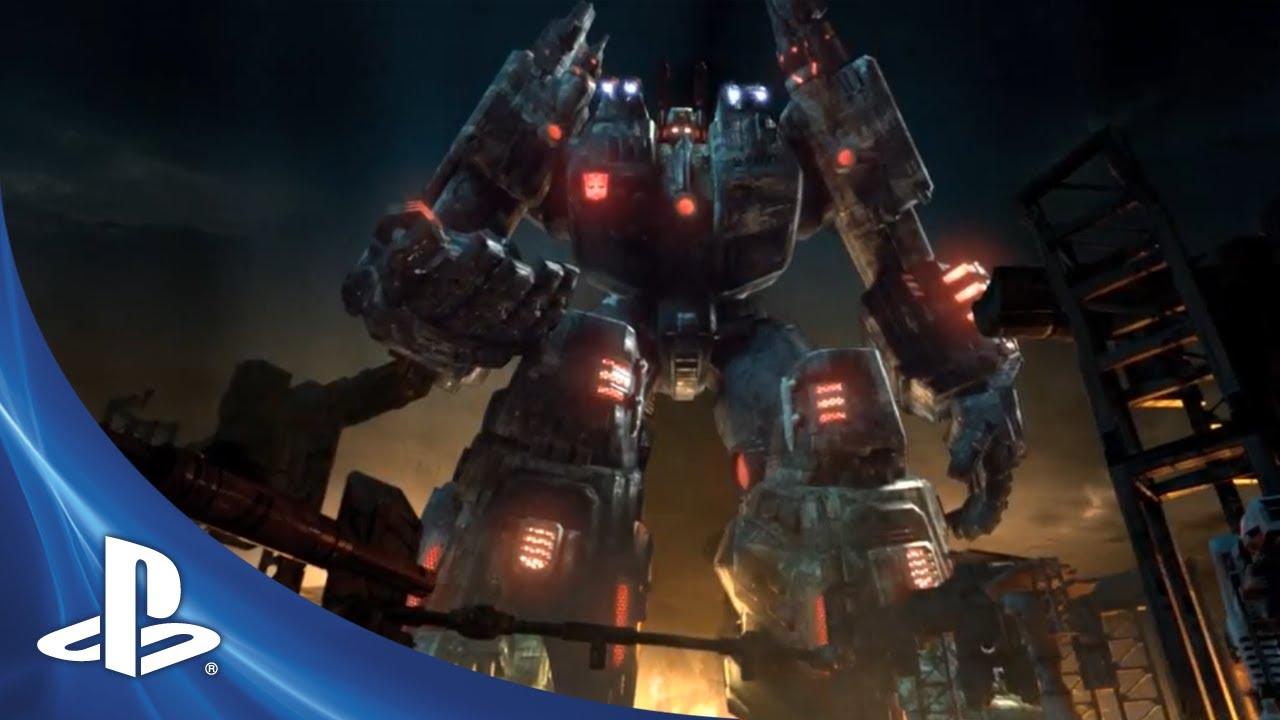 Transformers: Fall of Cybertron Unloads at E3 2012