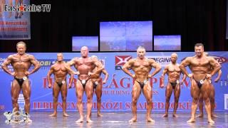 2012 World Championships BUDAPEST   master bodybuilding 60 65y   1