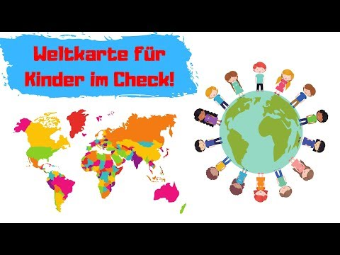 Weltkarte für Kinder 🌍 Test und Erfahrungsbericht