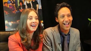 Alison Brie And Danny Pudi:a Super-cute Friendship