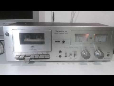 Test Piastra a cassette Technics M6