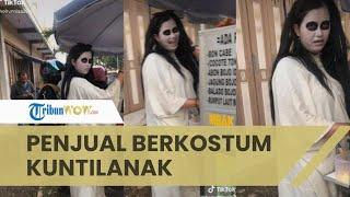 Viral Video Penjual Papeda di Pekalongan, Berkostum dan Bersuara seperti Kuntilanak