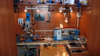 Домашняя мастерская в квартире своими руками. Home studio with his own hands