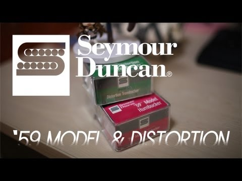 Seymour Duncan SH-1 59 + TB-6 Distortion Pickups