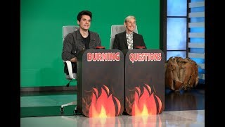 John Mayer Answers Ellen's 'Burning Questions'