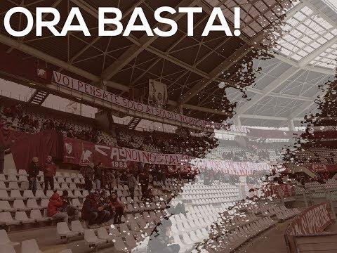 ORA BASTA! CONTESTAZIONE CURVA MARATONA [Torino-Fiorentina 1-2]