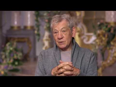 Beauty and the Beast Ian McKellen Official Movie Interview | MTW