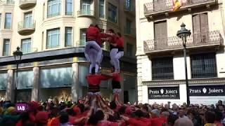 La magia dei Castellers a Barcellona