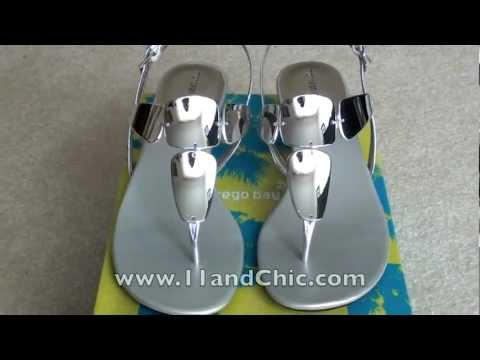 11&Chic Review: Women's Mork Mirror Wedge Sandal by Montego Bay Club