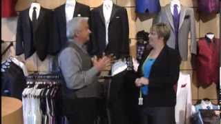 Picking Out A Tux At Mens Wearhouse & Tux In Johnson City
