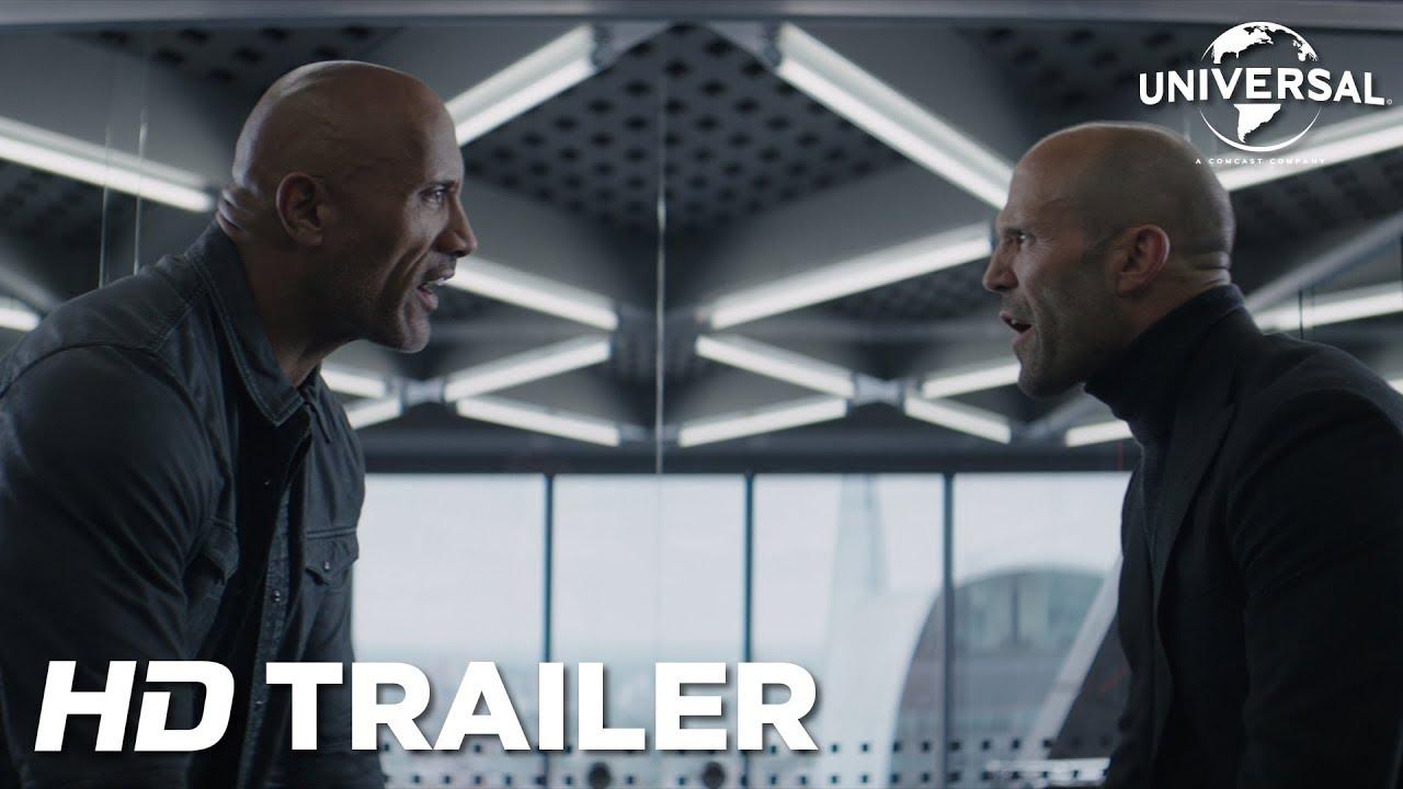Saiu! Confira agora o trailer de Velozes e Furiosos: Hobbs e Shaw