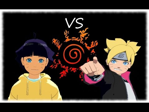 Himawari vs Boruto - Road to Boruto - Naruto Shippuden Ultimate Ninja Storm  4 MOD Gameplay - Hippo Reddy