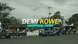 DEMI KOWE   Pendhoza SKA VERSION Unofficial Video Cover + Lirik (cc)
