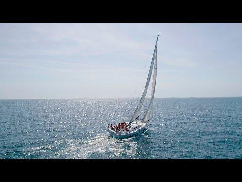 Le CRIDON OUEST en mer