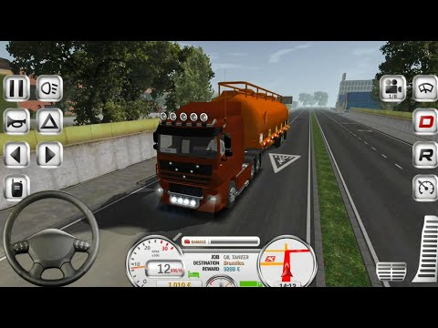 Euro Truck Evolution Simulator - Android Gameplay