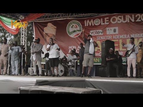 Adegbodu twins mocked Aregbesola as they celebrate victory ahead with Ademola Adeleke