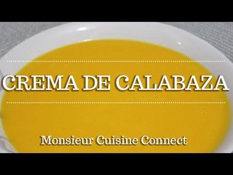 CREMA DE CALABAZA en Monsieur Cuisine Connect | Ingredientes entre dientes
