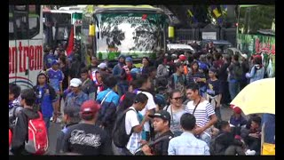 Final Piala Bhayangkara  Aremania Ke Jakarta Dikawal Polisi Bersenjata