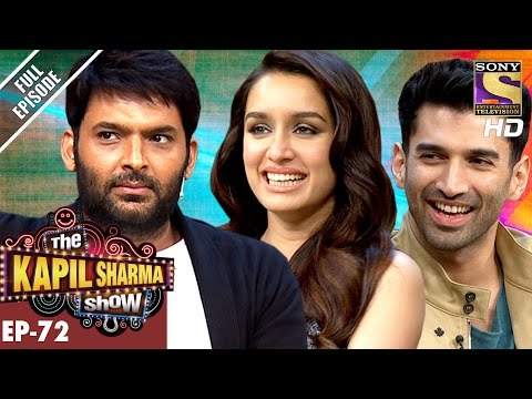 The Kapil Sharma Show - Ep 72–दी कपिल शर्मा शो–Aditya and Shraddha Kapoor In Kapil Show–7th Jan 2017
