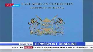 The government has extended the acquisition of  E-Passport deadline by 1 year to March 2021