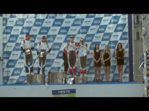 Jari Huttunen WRC2 luokan voittoon Neste rallissa