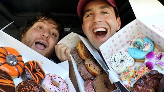 In Search Of THE BEST DONUTS IN THE WORLD!