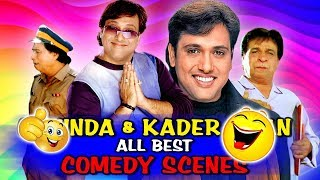 Govinda & Kader Khan All Best Comedy Scenes | Best Bollywood Comedy Scenes