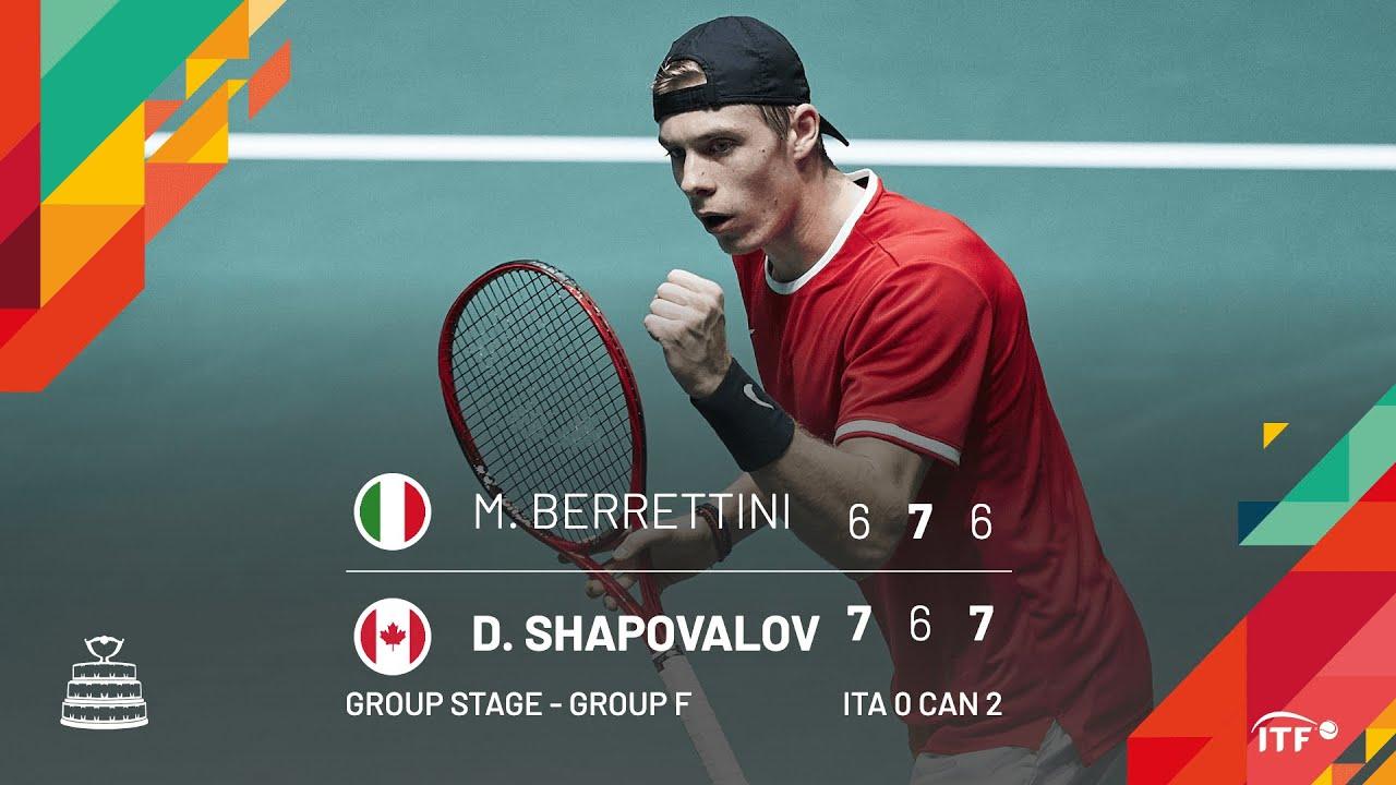 Финал Кубка Дэвиса. Канада побеждает Италию в упорном противостоянии (ВИДЕО)