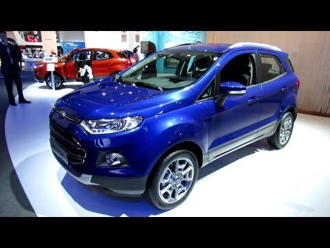 2014 Ford EcoSport - Exterior and Interior Walkaround - 2013 Frankfurt Motor Show