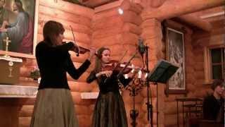Marco Uccellini - Sinfonia prima op. IX (baroque violin, baroque viola, positive organ)