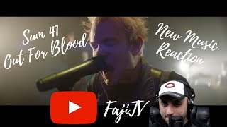 Sum 41 - Out For Blood (Official Music Video) | REACTION/REVIEW (2019)