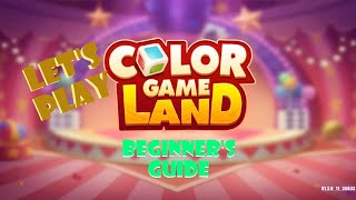 COLOR GAME LAND! COLOR GAME ONLINE! PLAY AND LEARN TRICKS AND STRATEGIES [BEGINNERS GUIDE]