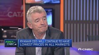 Ryanair CEO: Some union demands are 'simply unreasonable' | Squawk Box Europe