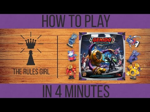 How to Play Gekido: Bot Battles in 4 Minutes - The Rules Girl