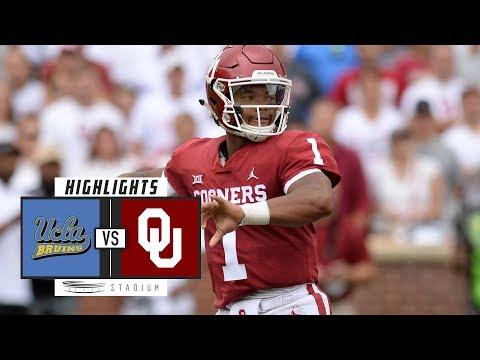 UCLA vs  6 Oklahoma Football Highlights (2018)  f1e7c463c