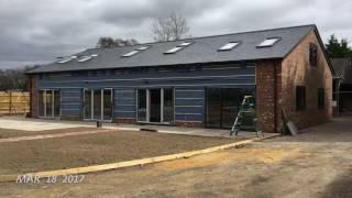 Atcost Barn Conversion Process From Start To Finish In Second Clips Using One Second Every Day