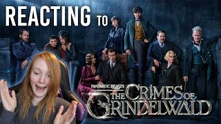 REACTING TO 'FANTASTIC BEASTS: CRIMES OF GRINDELWALD' TRAILER - IMPRESSIONS