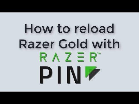 How to Reload Razer Gold with Razer Pin