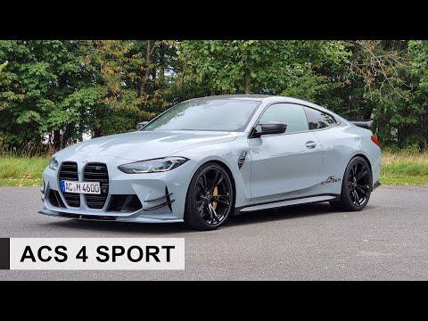 Der 2021 BMW M4 von AC Schnitzer: ACS4 Sport mit 590PS und 750 NM! - Review, Fahrbericht, Test