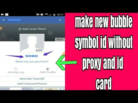 how to create facebook stylish name | create facebook colours buble