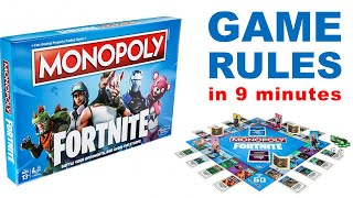 Fortnite Monopoly Gameplay - Quick & In Depth Review