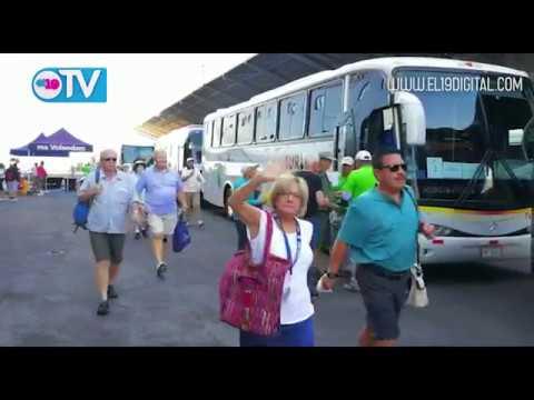 Crucero Volendam llega a Puerto Corinto