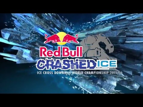 Impressive track of Red Bull Crashed Ice 2016 Munich