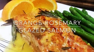 Honey Orange Salmon Recipe | Orange Glazed Salmon | Easy Orange And Honey Glazed Salmon In 20 Min