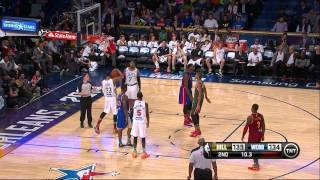 2 Dunks! Giannis Antetokounmpo finishes Rising All Stars Game with a Bang