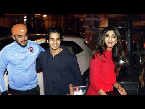 Bollywood Celebs Spotted At Soho House | Ishan Khattar, Shilpa Shetty, Janhvi Kaoopr