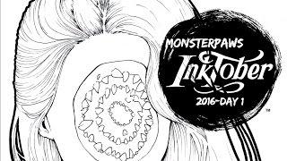 INKTOBER DAY 1! Memento Mori