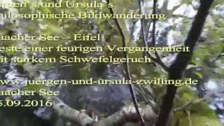 Laacher See – Eifel -Reste einer feurigen Vergangenheit mit starkem Schwefelgeruch