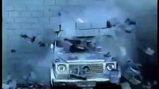Краш-тест гелика Mercedes-Benz G-Class